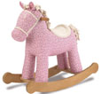 pretty pony rocking horse