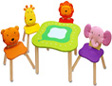 children's furniture table and chairs