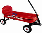 radio flyer ranger wagon pull along