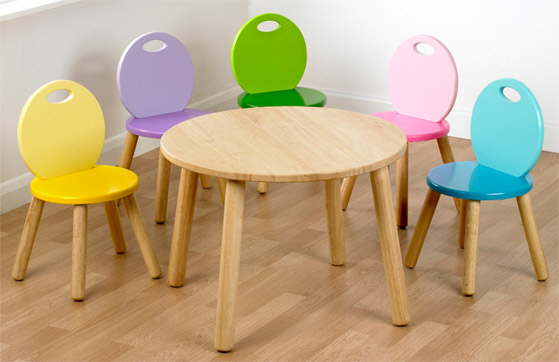 & kids wooden furniture for the nursery or bedroom