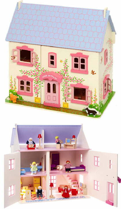 Wooden Dolls Houses Traditional Lavender And Baytree