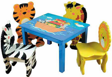 Childrens wood chairs - Kids Wooden Furniture For The Nursery Or Bedroom