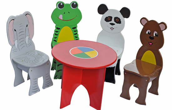 Kids Wooden Furniture For The Nursery Or Bedroom