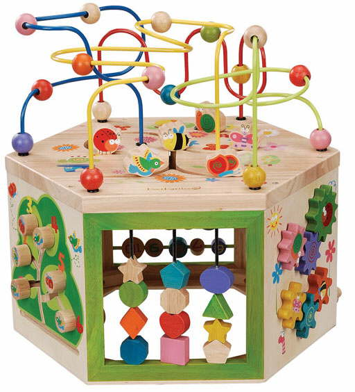 Wooden Abacus And Bead Frame Activity Tables For Kids