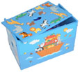 noah's ark wooden toy box