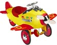 kids metal noddy plane