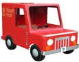 postman pat pedal van for kids