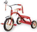 radio flyer traditional kids tricycle