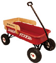 big red classic all terrain wagon